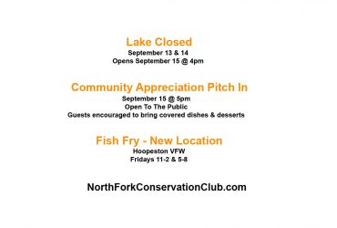 North Fork Conservation Club Hoopeston IL party